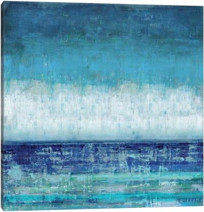 Blue Horizions Canvas Art Print
