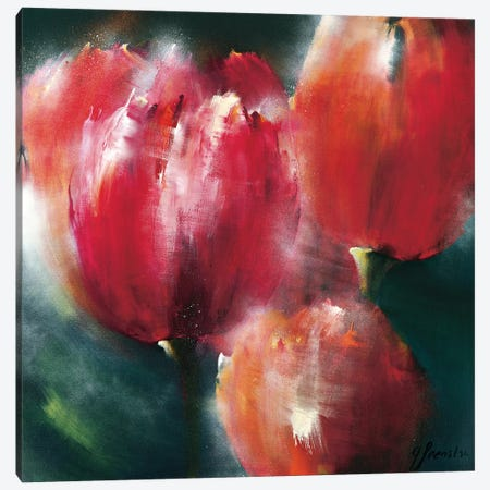 Spring Flower II Canvas Print #THE10} by Greetje Feenstra Canvas Art