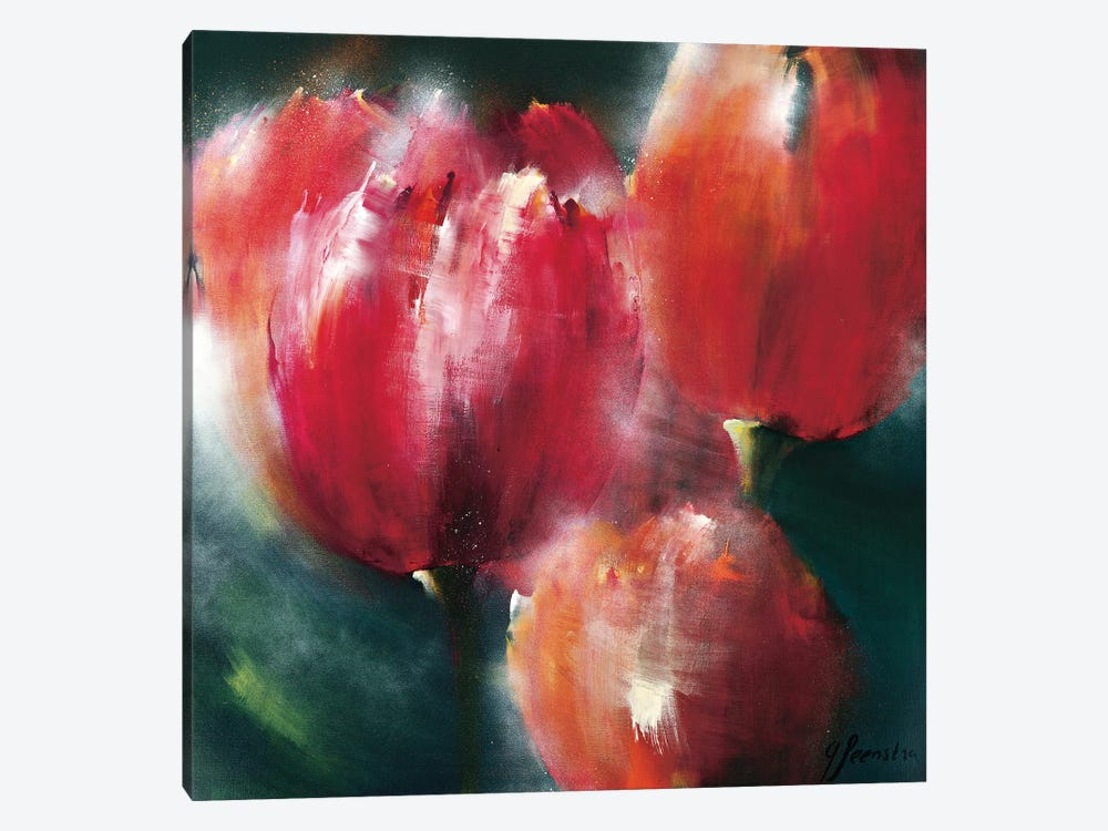 Spring Flower II by Greetje Feenstra 1-piece Canvas Wall Art