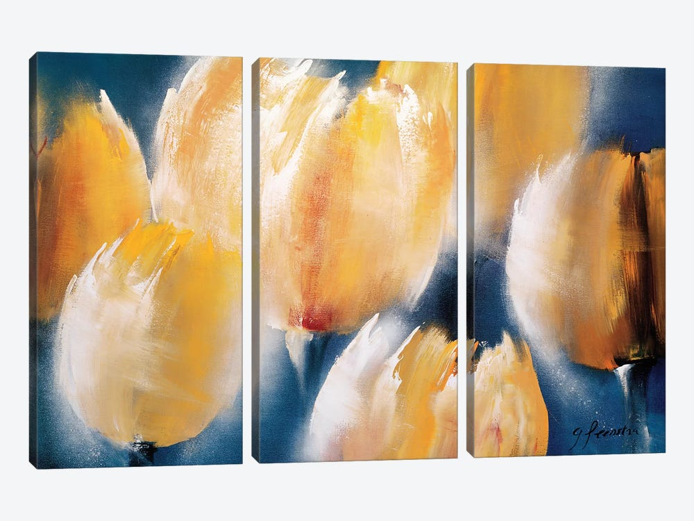 Majestic II by Greetje Feenstra 3-piece Canvas Print