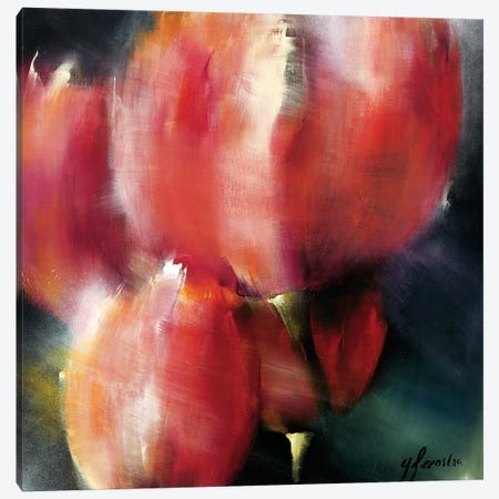Spring Flower I Canvas Print #THE9} by Greetje Feenstra Canvas Art