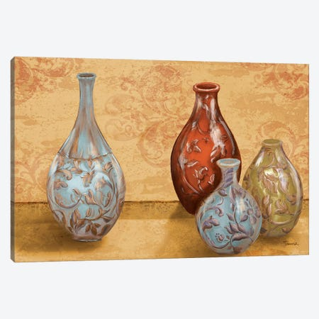 Royal Urns Canvas Print #THK11} by Tiffany Hakimipour Canvas Wall Art