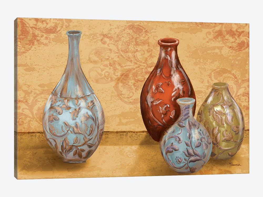 Royal Urns by Tiffany Hakimipour 1-piece Canvas Art