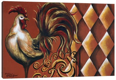 Rules the Roosters I Canvas Art Print