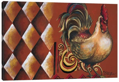 Rules the Roosters II Canvas Art Print