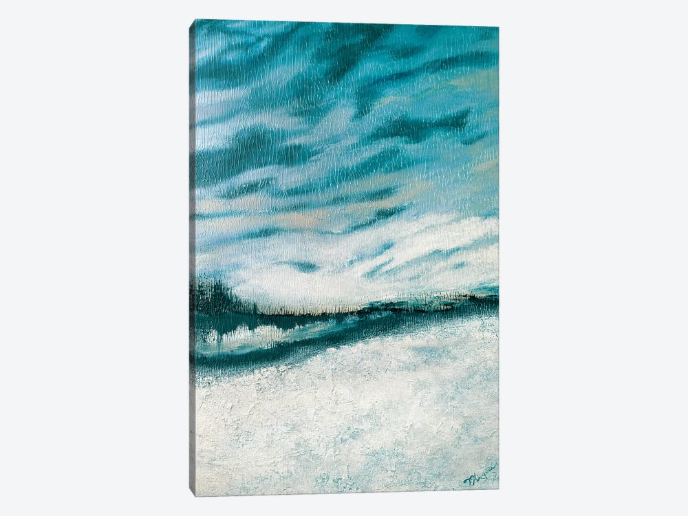 Winter's Edge I by Tiffany Hakimipour 1-piece Canvas Art Print