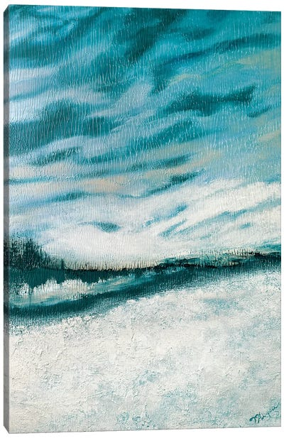 Winter's Edge I Canvas Art Print