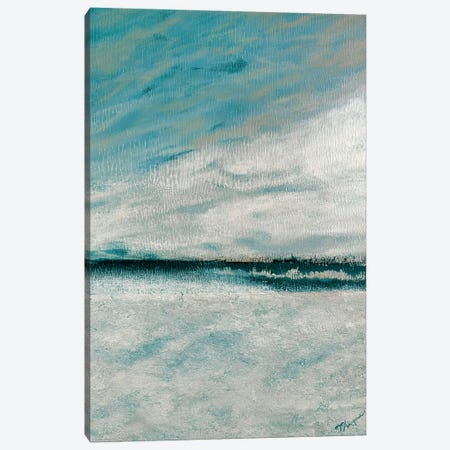 Winter's Edge II Canvas Print #THK17} by Tiffany Hakimipour Art Print