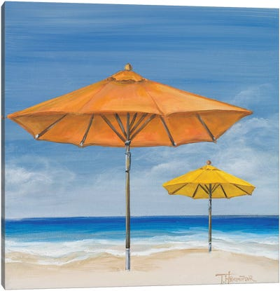 Coastal Scene I Canvas Art Print