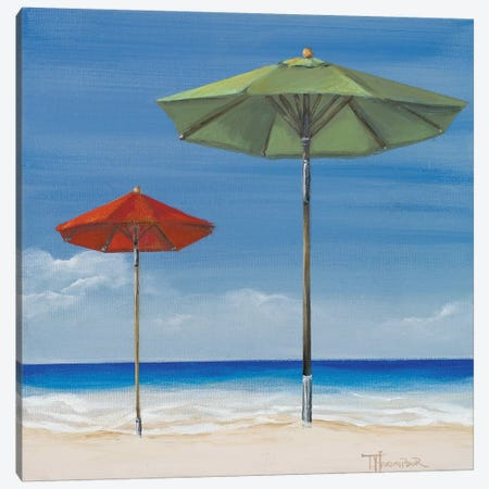 Coastal Scene II Canvas Print #THK19} by Tiffany Hakimipour Canvas Wall Art