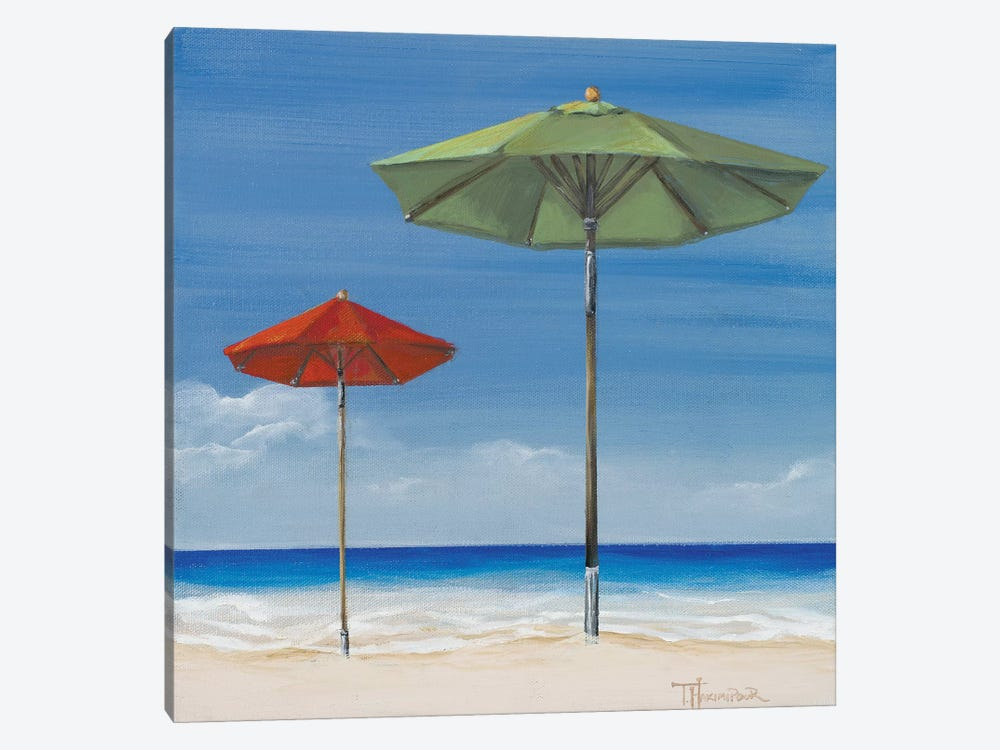 Coastal Scene II by Tiffany Hakimipour 1-piece Canvas Artwork