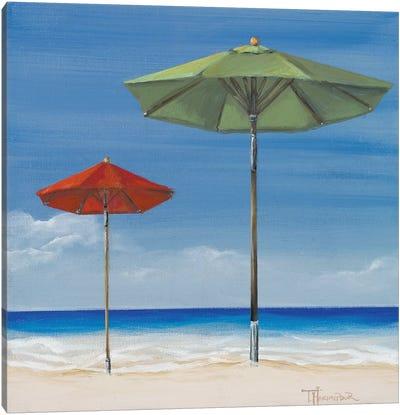 Coastal Scene II Canvas Art Print