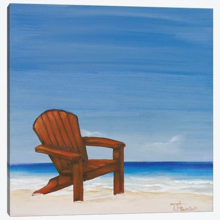 Coastal Scene III Canvas Print #THK20} by Tiffany Hakimipour Canvas Print