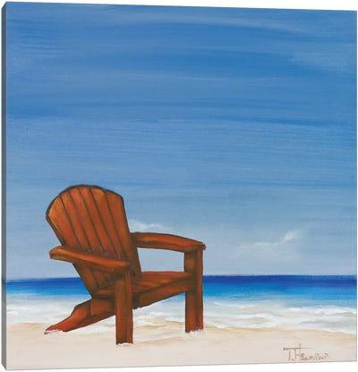 Coastal Scene III Canvas Art Print