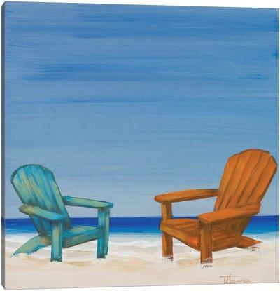 Coastal Scene IV Canvas Art Print