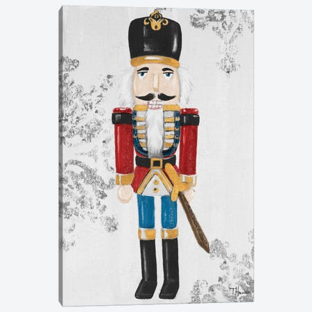 Elegant Nutcracker II Canvas Print #THK23} by Tiffany Hakimipour Canvas Print