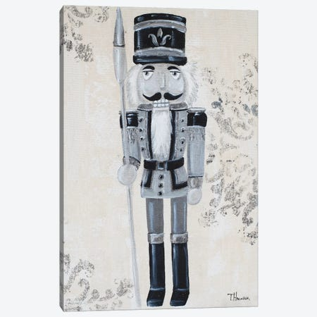 Gray Nutcracker I Canvas Print #THK24} by Tiffany Hakimipour Canvas Art