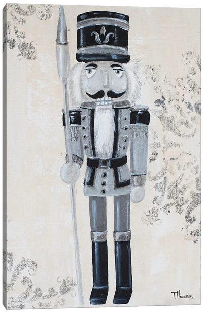 Gray Nutcracker I Canvas Art Print