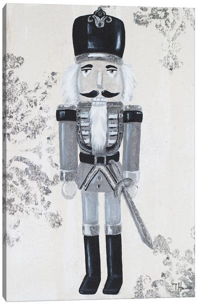 Gray Nutcracker II Canvas Art Print