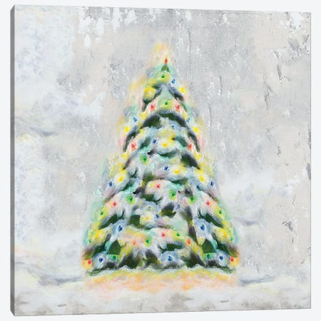 Jolly Christmas Tree Canvas Print #THK27} by Tiffany Hakimipour Canvas Wall Art