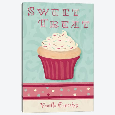 Sweet Treat Canvas Print #THK29} by Tiffany Hakimipour Art Print
