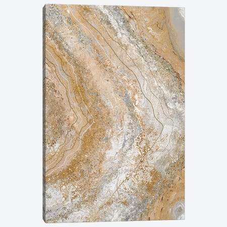 Cool Earth Marble Abstract II Canvas Print #THK37} by Tiffany Hakimipour Art Print