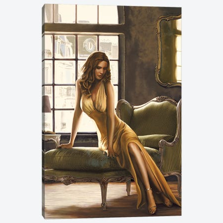 The Pose Canvas Print #THP3} by Thomas Page Canvas Wall Art