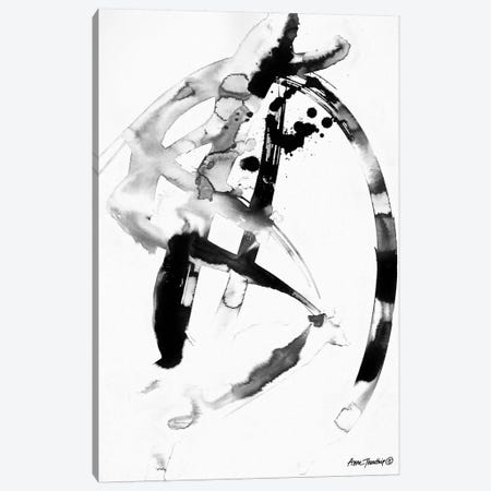 Ink Dance Canvas Print #THT15} by Anne Thouthip Canvas Art