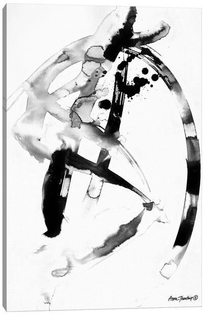 Ink Dance Canvas Art Print