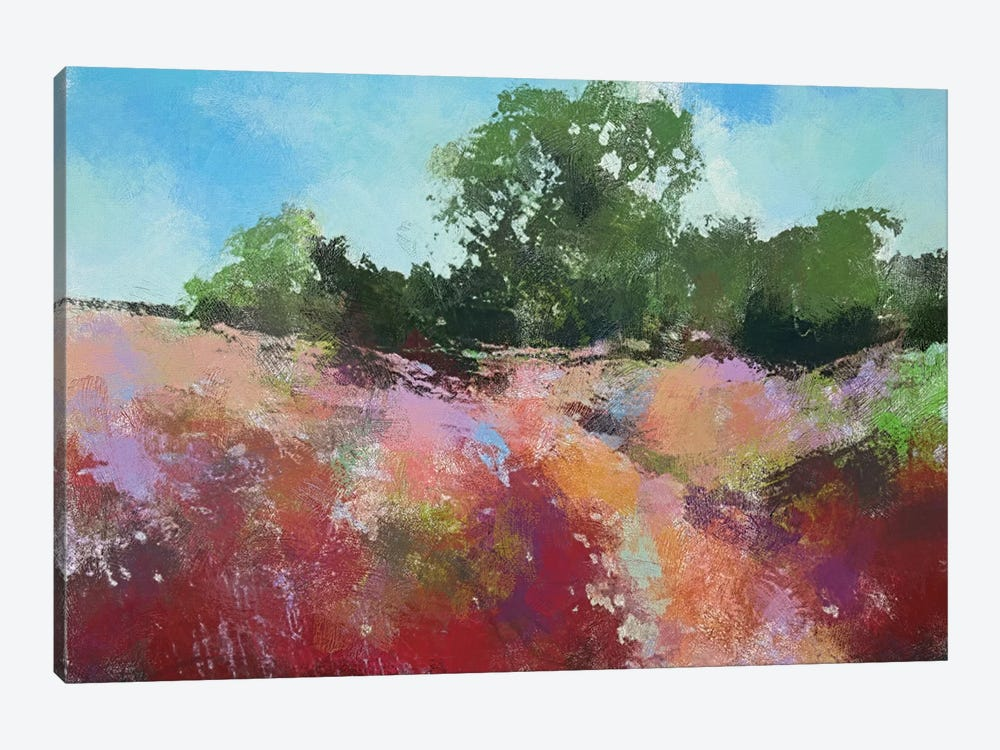 Beautiful Path by Anne Thouthip 1-piece Canvas Wall Art