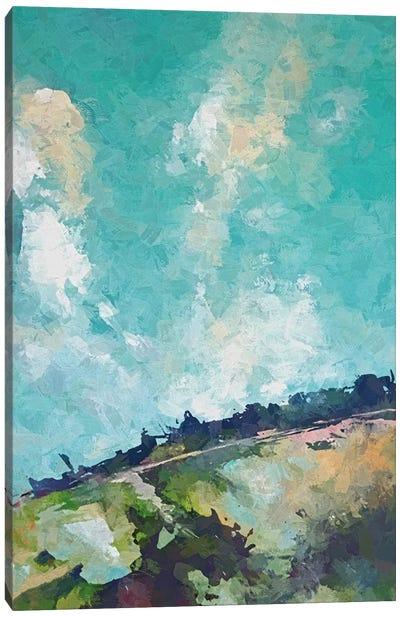 Heart Cloud Canvas Art Print
