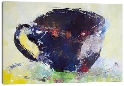 A Cup of Coffee Canvas Art Print