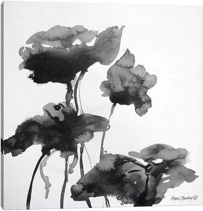 Lotus Flowers I  Canvas Art Print