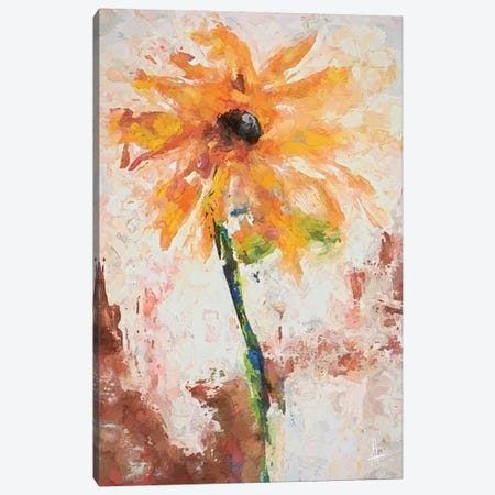 Lovely Yellow Canvas Print #THT8} by Anne Thouthip Canvas Art