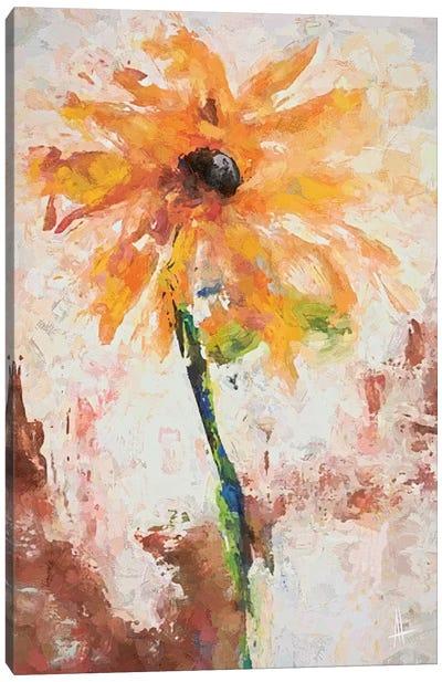 Lovely Yellow Canvas Art Print