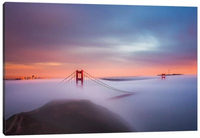 Just Another Day In The Bay Canvas Art Print