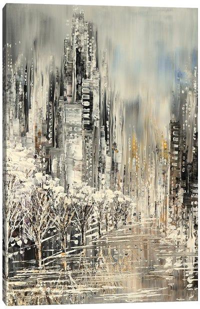 White Album Canvas Art Print