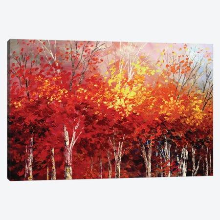 Woodland Drama Canvas Print #TIA108} by Tatiana Iliina Art Print