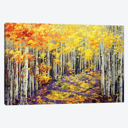 Yellow Brick Road Canvas Print #TIA110} by Tatiana Iliina Canvas Artwork