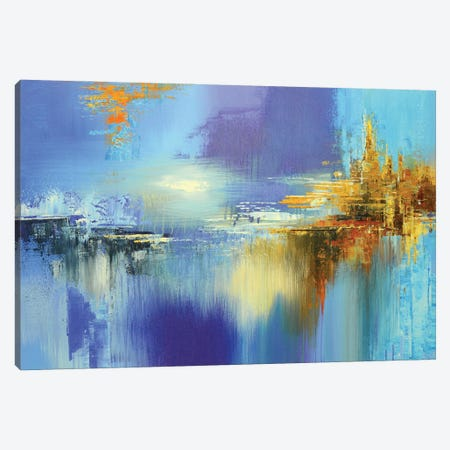 Flight of the Condor Canvas Print #TIA113} by Tatiana Iliina Canvas Art