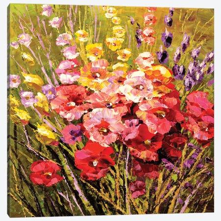 Fragrant Flowers Canvas Print #TIA114} by Tatiana Iliina Canvas Print