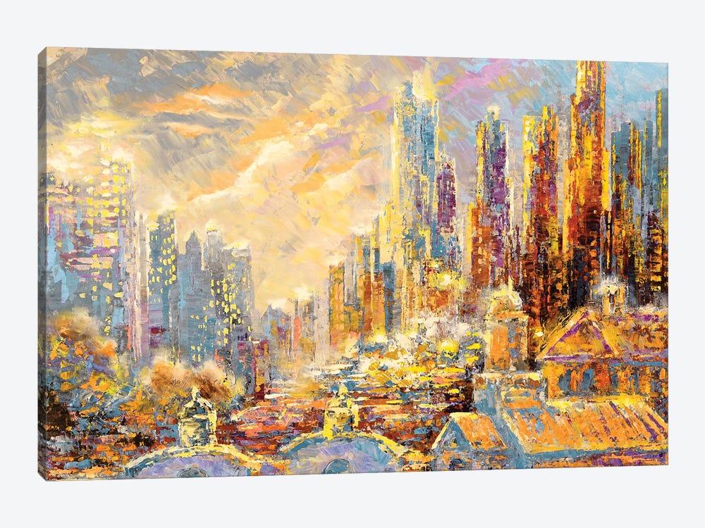 History of LA by Tatiana Iliina 1-piece Canvas Art