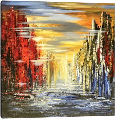 Unimaginable Canvas Art Print