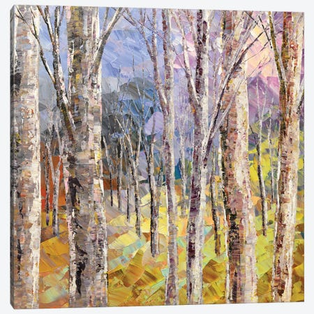 Budding Woods Canvas Print #TIA14} by Tatiana Iliina Canvas Art