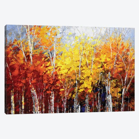 Chestnut Trail Canvas Print #TIA17} by Tatiana Iliina Canvas Art