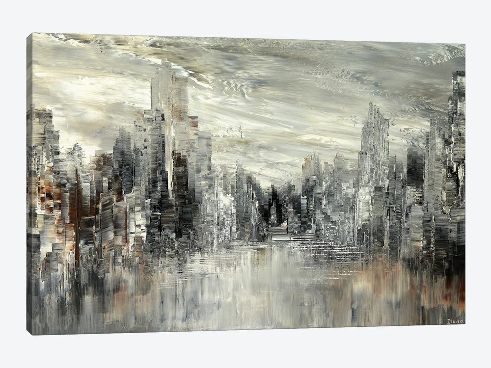 City Of The Century by Tatiana Iliina 1-piece Canvas Print