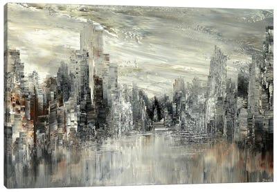 City Of The Century Canvas Art Print