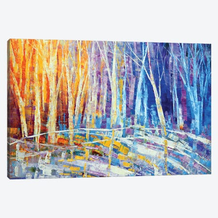 Color Of Snow Canvas Print #TIA20} by Tatiana Iliina Canvas Artwork