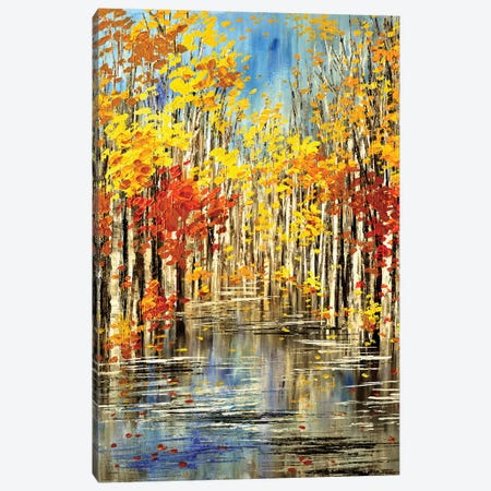 Cry Me A River Canvas Print #TIA23} by Tatiana Iliina Canvas Art