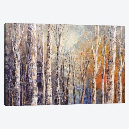 Fox Runs Free Canvas Print #TIA34} by Tatiana Iliina Canvas Art